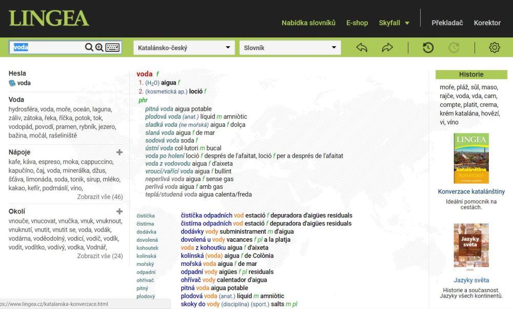 katalánský slovník