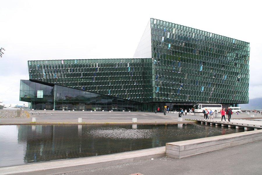 Reykjavík, budova opery